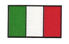 PATCH RICAMO TOPPA BANDIERA ITALIA cm. 10X6 TERMOAPPLICABILE CON FERRO DA STIRO