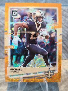 2020 Donruss Optic Michael Thomas Orange Scope Prizm /79 Saints