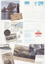 GB Stamps Aerogram / Air Letter APS84 - 1st NVI Forth Railway Bridge Issue 1990