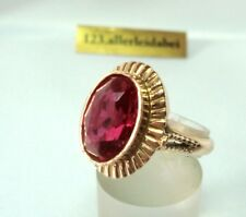 russischer Spinell Ring 583 Rotgold 583 Gold  / BK 185