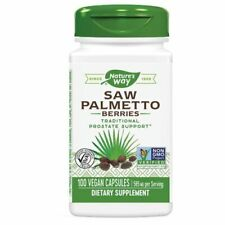 Saw Palmetto Berries 100 Caps by Nature's Way