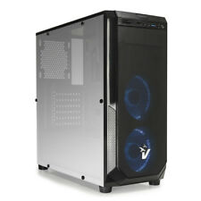 VULTECH CASE GAMING ATX BLACKDOOM CON VENTOLE HALO LED BLU GS-0485BL