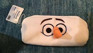 Frozen 2 (II) Pencil Bag Olaf Disney Character Pen Case Makeup Bag