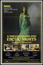 THOUSAND AND ONE EROTIC NIGHTS, A Movie POSTER 27x40 Annette Haven John Leslie