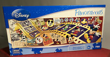 """Panoramas 'Mickey Through The Years' 750 Piece Puzzle 36.5""""x11.25"""" Mega Disney"""