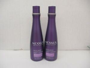 2 NEXXUS New York Salon Care Frizz Defy ProteinFusion Shampoo 13.5 OZ Ea AH 3336