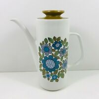 J G Meakin Studio Coffee Pot Topic Vintage / Retro 1960s 22cm Tall