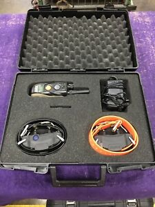 Dogtra 1902S Collar System - USED Two Dogs Collar Training 3/4 Mile Range!
