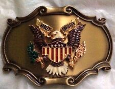 New Vtg. Harley Davidson Belt Buckle 1978 75th Anniv. Raintree-Made in the U.S.A