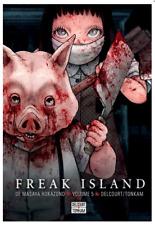 manga Freak Island tome 5 Seinen Masaya Hokazano Delcourt Horreur Suspense VF