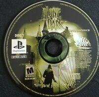 Alone in the Dark Ps1 Playstation one Disc 1 only TESTED Rare Infogrames Sony