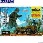 MPC 882 1/25 Godzilla Army Jeep Model Kit