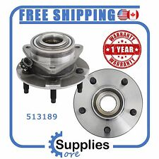 Pair (2) New Wheel Hub Bearing Assembly with One Year Warranty (513189)