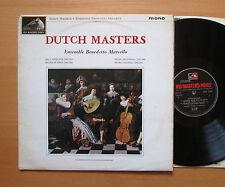 CLP 1735 Dutch Master Ensemble Benedetto Marcello 1963 HMV Mono EX/VG