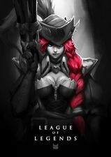 """375 League of Legends - Hot Online Video Game 14""""x20"""" Poster"""