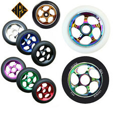 2 pro stunt scooter metal core wheels cyclone 110mm abec 11 bearing neo chrome