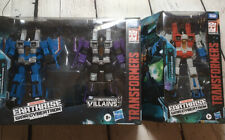 Transformers Earthrise War for Cybertron Starscream Skywarp Thundercracker NIB