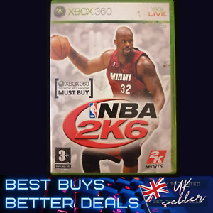 NBA 2K6 Xbox 360 Game TESTED PAL