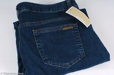 Michael Kors Cropped Jeans sz 10 Low Rise Aged Indigo Rinse Rolled Hem NWT 5919