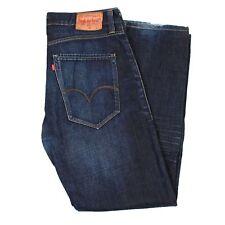 Levi's 500 Gerade Blau Herren Jeans IN Größe 32 (Schrittlänge 74.3cm)
