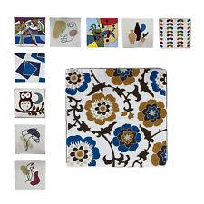 Kissenbezüge mit Stickerei dekorative Lendenkissenhülle Baumwoll 2erPack 45x45cm