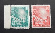 Bund, 111 - 112 ** 1. Bundestag Seitenrand tiefst gepr. Schlegel