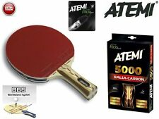 Atemi 5000 Balsa Carbon Table Tennis Bat Pro Line Ping Pong Racket Paddle Blade