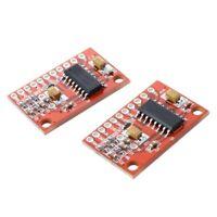 1X( 2 pcs 2 Amplifier channel audio amplifier board 3W PAM8403 Module K7B9)