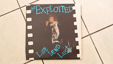The Exploited –  Live Lewd Lust - LP 1989