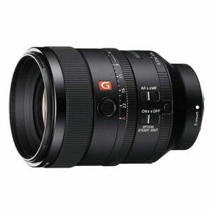 Sony NEW - SEL100F28GM - Full Frame E-Mount 100mm F2.8 STF G Master OSS Lens