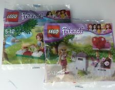 LEGO FRIENDS 30105 Stephanie's Mailbox plus 30108 Mia's Summer Picnic NEW sealed