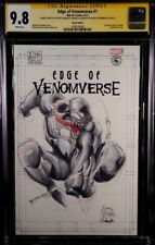 MARVEL Comics VENOMVERSE #1 CGC SS 9.8 Stegman Sketch SPIDER-MAN RED GOBLIN GWEN