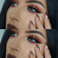 Luxurious 100% Real Mink Elegant Cross Thick False Eyelashes 3D Eye Lashes D