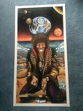 100 Lot Package TOP SELLER Jimi Hendrix LTD. Fine Art Prints by Bill Foss