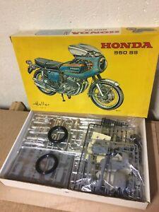 1/8 HELLER 985 : MOTO ROUTIERE SPORTIVE HONDA JAPAUTO 950SS RARE COLLECTOR