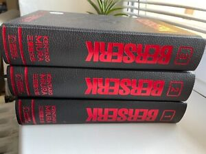 Berserk Deluxe Volume 1, 2, 3 (Hardcover) Kentaro Miura