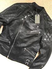 AllSaints Women's Leather Coats & Jackets for Men Blue