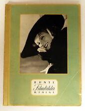SAMMELBILDERALBUM * GREILING-ZIG. - BUNTE Filmbilder II. FOLGE - komplett 1930er