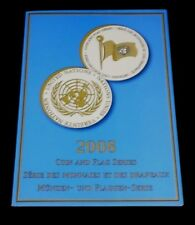U.N. 2008, FLAG & COIN, SOUVENIR FOLDER, SHEETS /8, 3 OFFICES, MNH, NICE! LQQK!