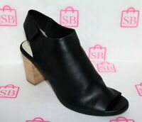 Betts Brand Womens DAWSON Black Leather Ankle Boots Size 11 NEW