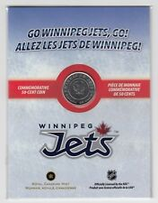 2011 - 2012 Canada Winnipeg Jets 50-cent Commemorative Coin
