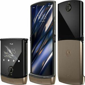 Motorola Moto RAZR 128GB 4G Lock for Verizon Folding Flip Smartphone Open Box