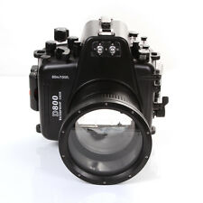 60m 195ft Waterproof Housing Diving Case Cover for Nikon D800 Camera 105mm F2.8