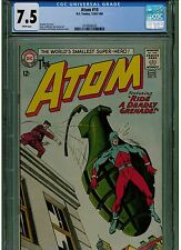 ATOM #10 CGC 7.5 1964 DC COMICS SCARCE IN HIGH GRADE GIL KANE WHITE PAGES BLUE