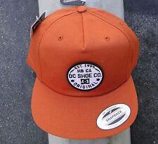 Dc Shoes Skareboard Docks Orange Mens Hat One size Fit Snapback