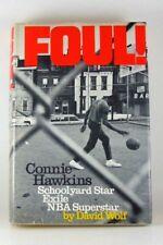 FOUL! THE CONNIE HAWKINS STORY HARDCOVER Signed by Connie Hawkins