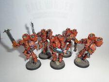 Warhammer 40k Painted Chaos Space Marine Raptors Korne