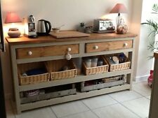 Rustic Solid Pine Shop Display / Counter Unit, Handmade, Baskets and Crates inc