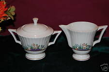 Lenox RUTLEDGE Sugar Bowl and Creamer NEW USA