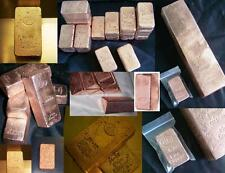 100 oz's of Copper Bullion Bars  - PURE COPPER - Mixed Lot - Not Silver or Gold